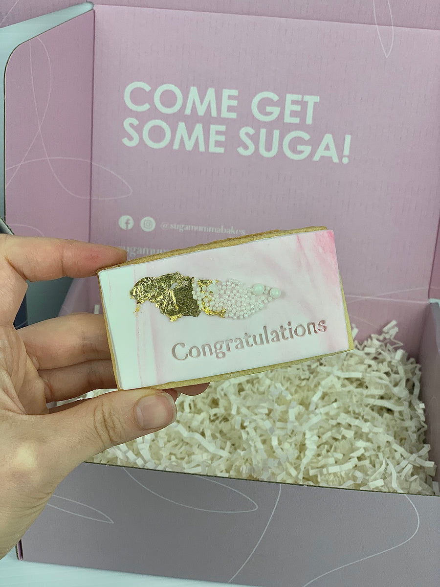 'Congratulations' Cookie Pack