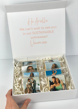 Personalised Photo 6x Cookie Box