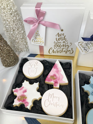 Deluxe Christmas Cookie Box