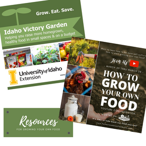 Resources for Growing Your Own Food