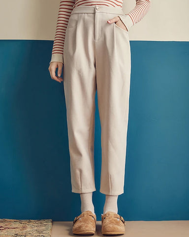 KUOSE Loose Straight Casual Pants