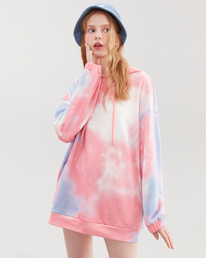 KUOSE Gradient Colorful Fashion Sweatshirt