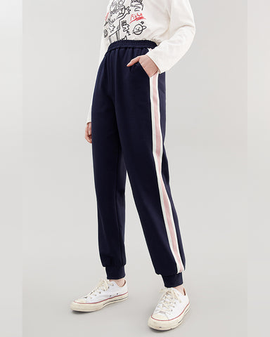 Kuose Ankle-tied  Casual Track Pants
