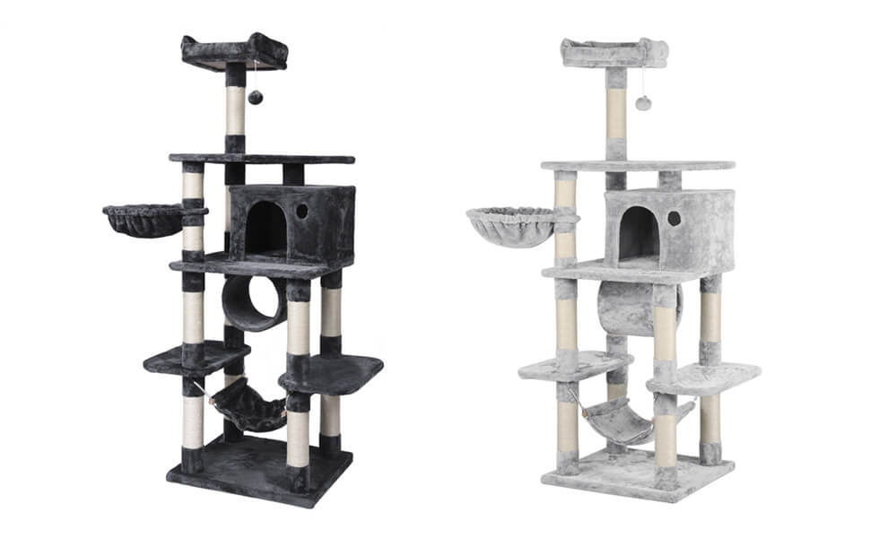 69.3-inch Multi Level Cat Tree Tower for Large Cats