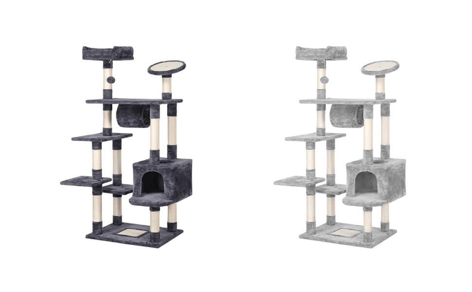 62-inch Large Cat Tree Tower Condo