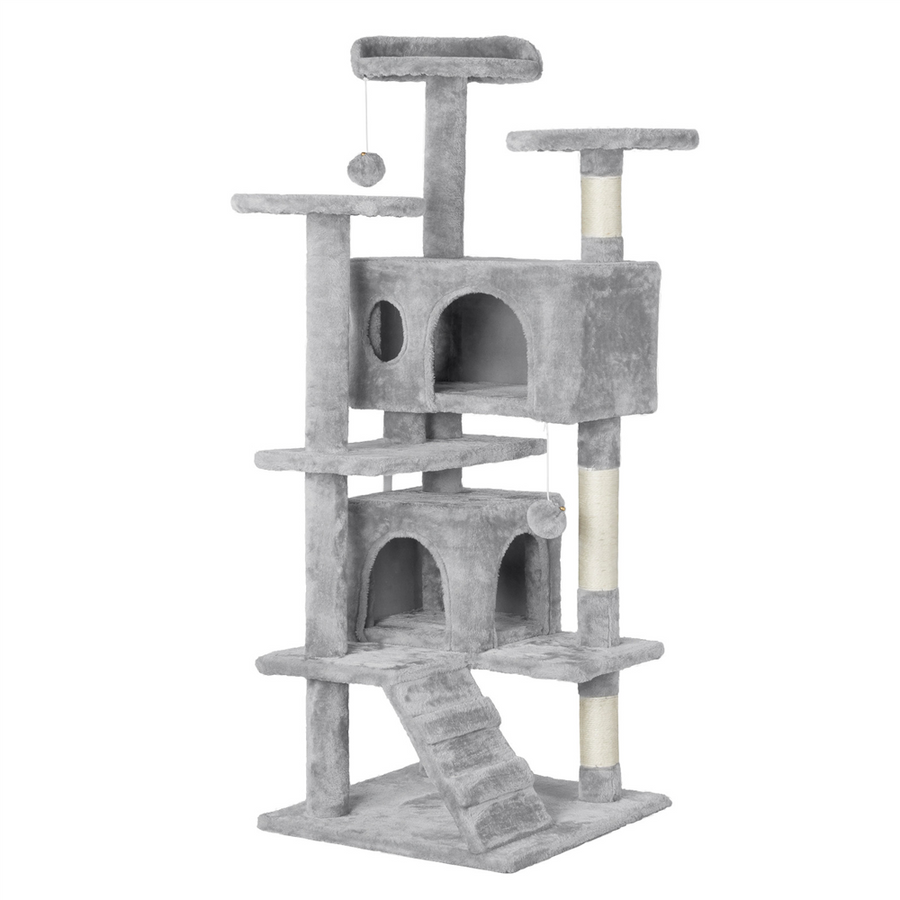 Pawscoo Cat Tree Tower 51 inch