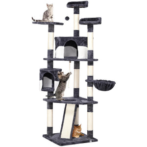 Pawscoo 79-inch Multi-Level Cat Tree