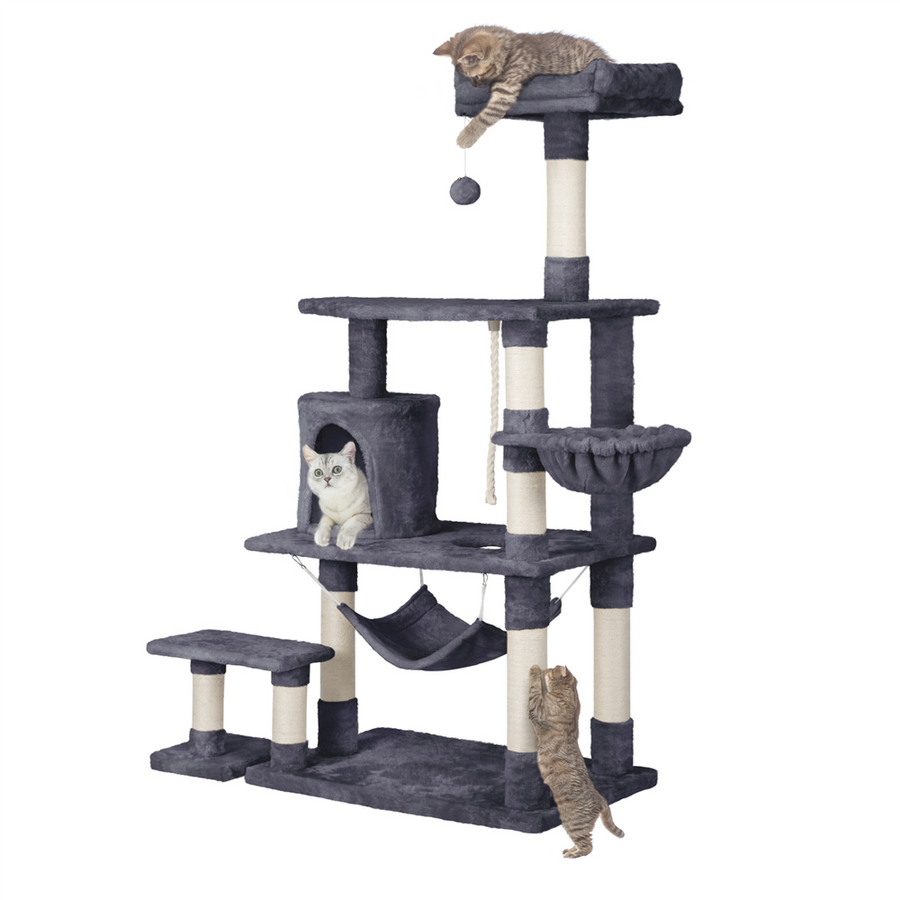 Pawscoo 62-inch Extra Large Cat Tree Condo