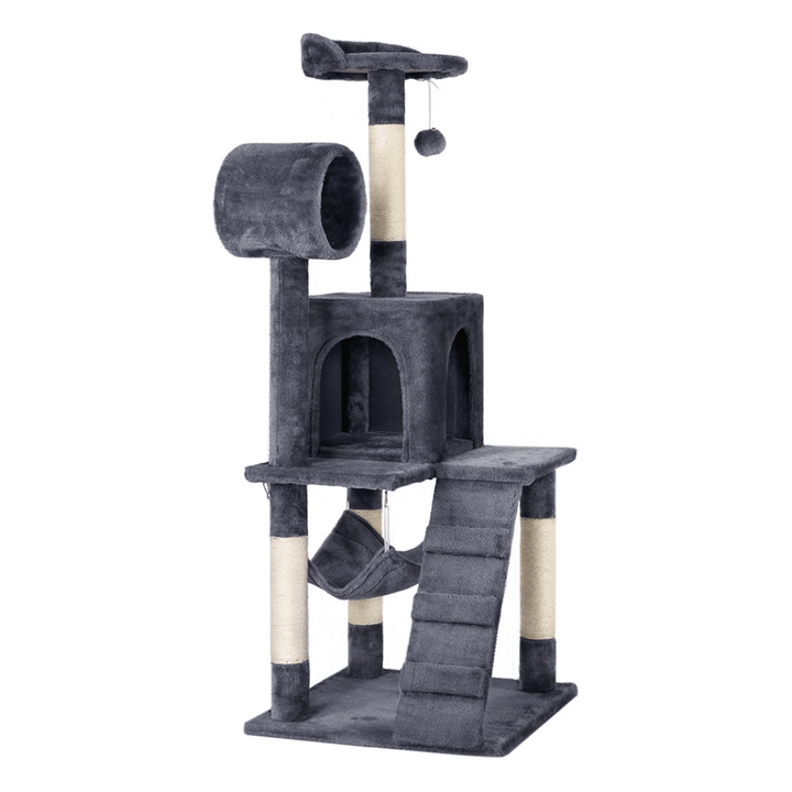Pawscoo 51-inch Cat Tree Condo - Pawscoo