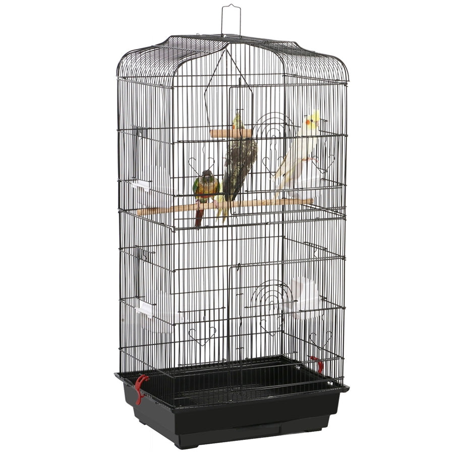 Pawscoo 36-inch Portable Hanging Medium Flight Bird Cage - Pawscoo