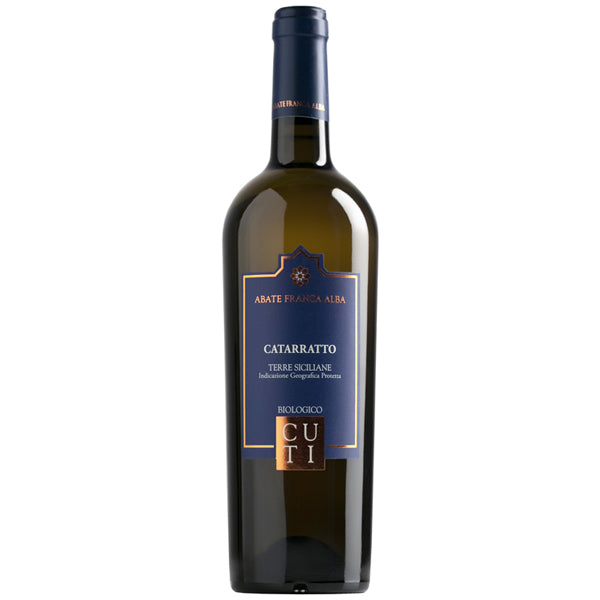 Vino Bianco Cuti – Catarratto Bio Terre Siciliane IGT - 75cl