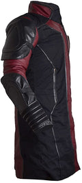 Classyak Men's Avengers Ultron Fashion Hawkeye Faux Leather Coat