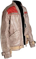 Classyak Men's Wars Force Real Leather Jacket