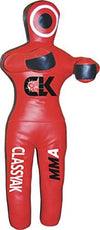 Classyak MMA Jiu Jitsu Grappling Dummy Punching Bag Synthetic Leather - 70 inches