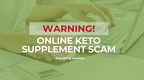 WARNING: Keto Supplement Scam!