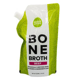 Clean Living Company Beef Bone Broth - 500 ml (fresh not frozen)