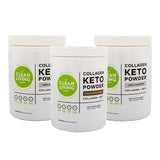Collagen Keto Powder (Pack of 3) Save 15%