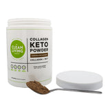 Clean Living Company Collagen Keto Powder (Pack of 3) Save 15%