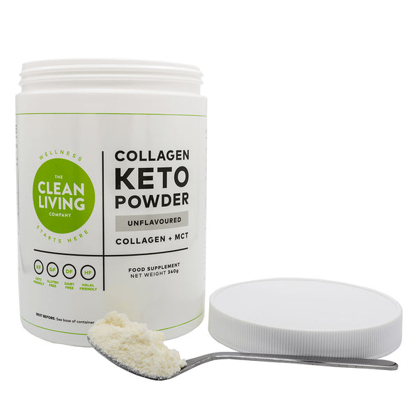 Keto Collagen Powder (MCT Blend), Unflavoured - 340g