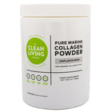 Clean Living Company Collagen Beauty Bundle: Marine Collagen (340g) and Pure Collagen (340g)