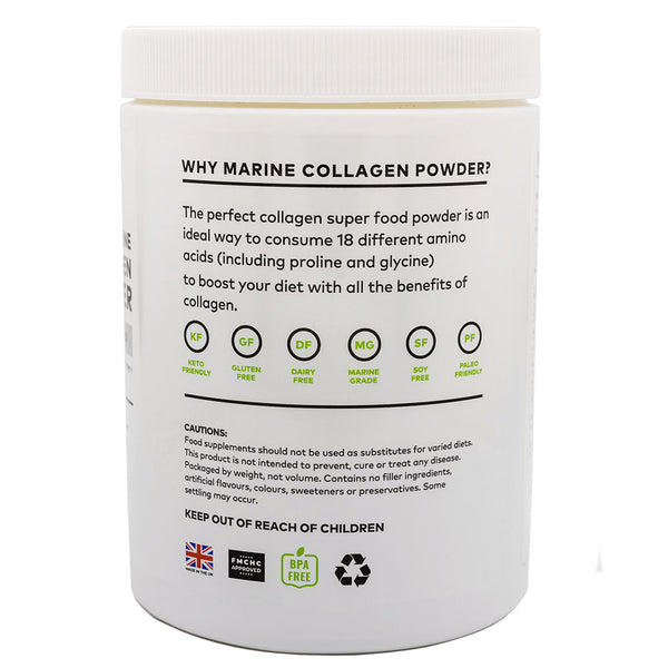 Clean Living Company Pure Marine Collagen Powder - 340g