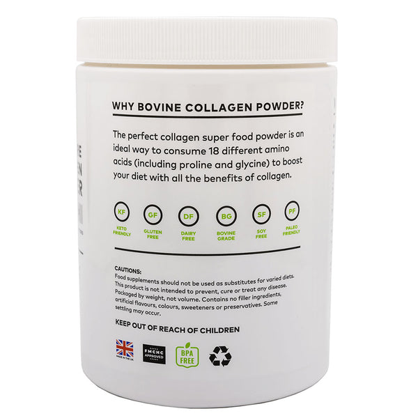 100% Pure Collagen Powder, Unflavoured - 340g SOLD OUT BUT AVAILABLE FOR PRE ORDER