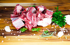 Goat Bone-In Stew Meat - Source to Table
