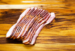 Hickory Smoked Bacon - thick cut - Source to Table