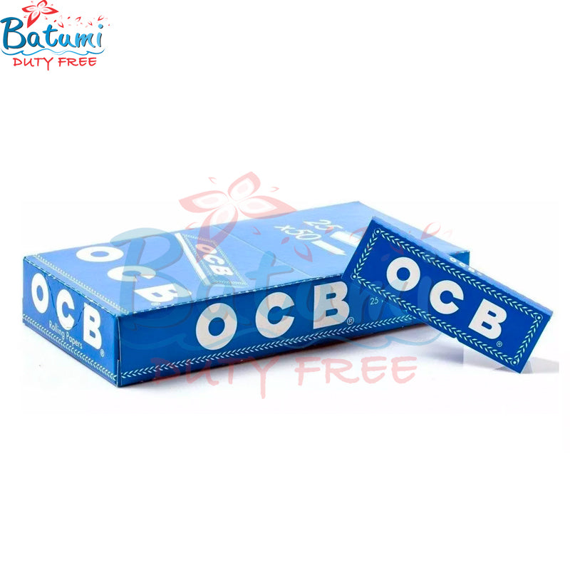 OCB Blue Cut Corner rolling papers online for sale usa uk