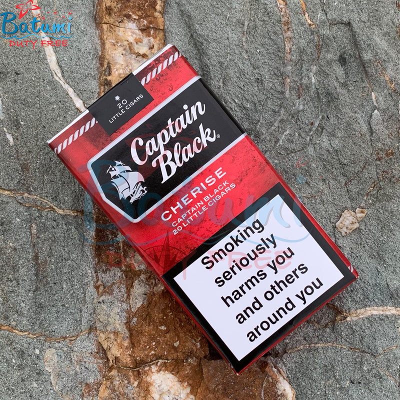 Captain Black Little Cigars Cherise online for sale duty free price
