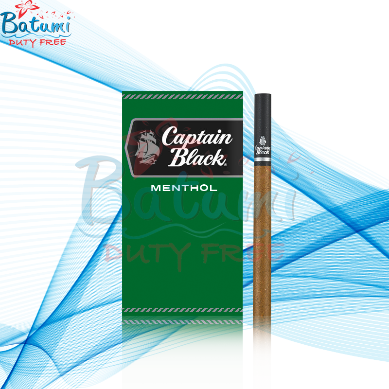 Captain Black Little Cigars Menthol online for sale duty free price