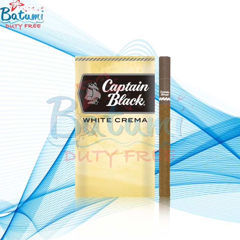 Captain Black Little Cigars White Crema online for sale duty free price