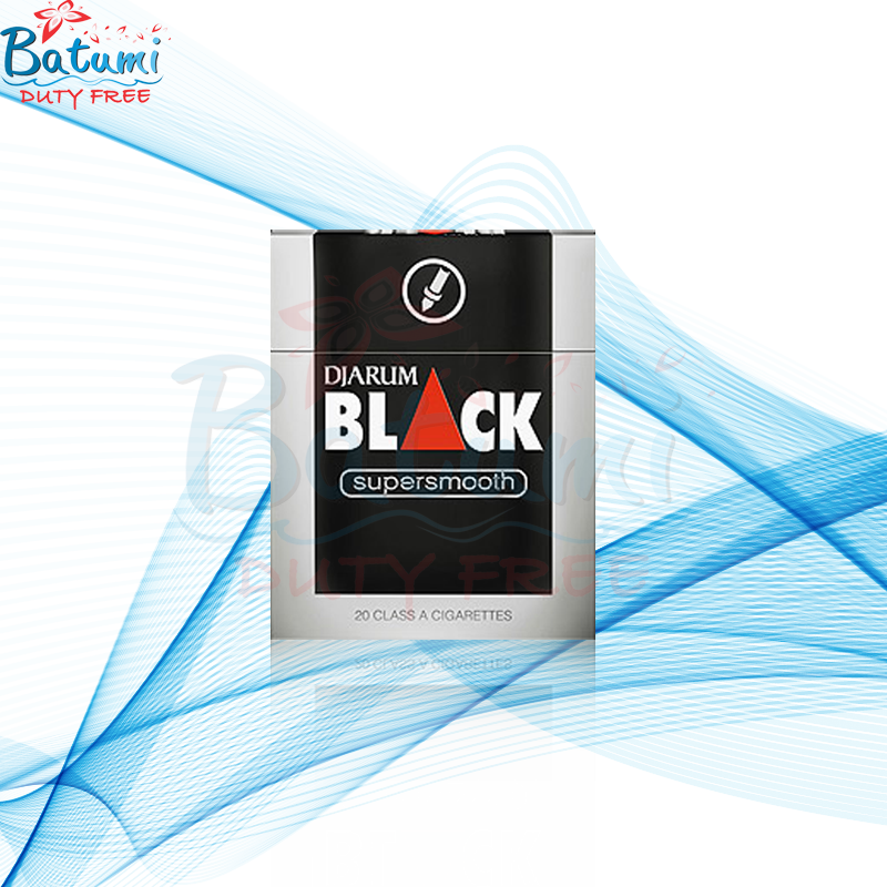 Djarum Black Supersmooth Clove Cigarettes online for sale USA UK