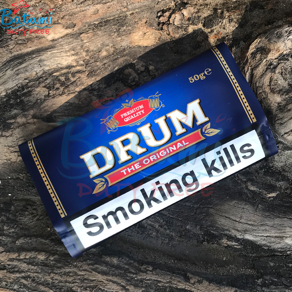 Drum The Original Blue 50g hand rolling tobacco online for sale uk usa europe