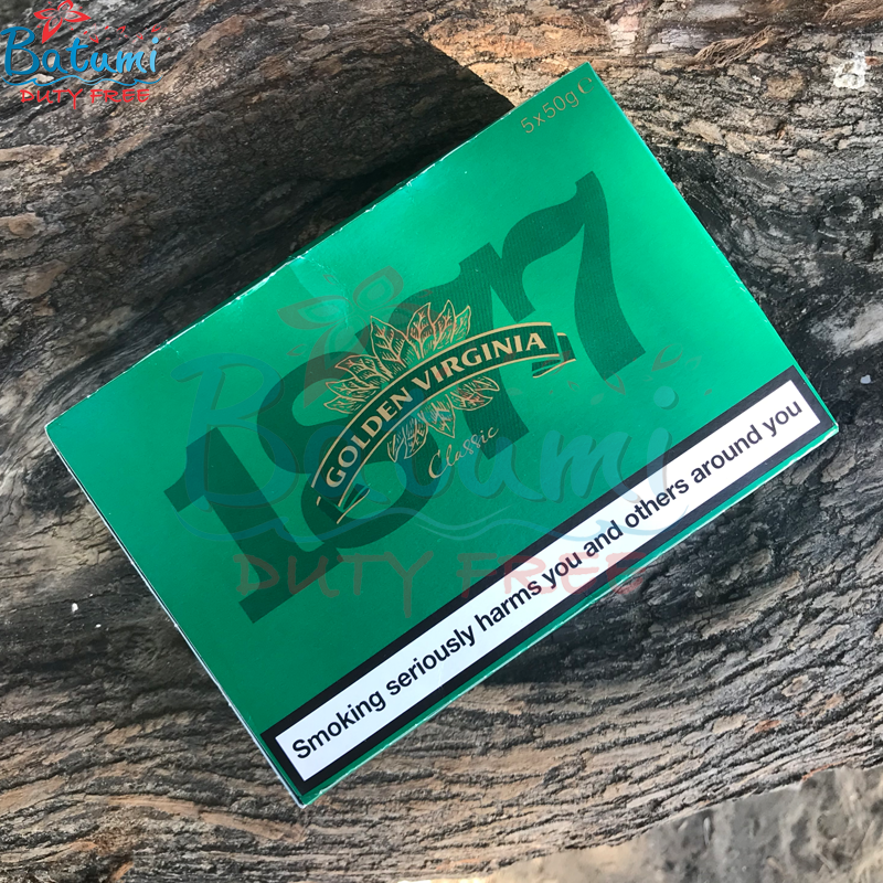 Golden Virginia Classic Green 5x50g 250g hand rolling tobacccos online for sale