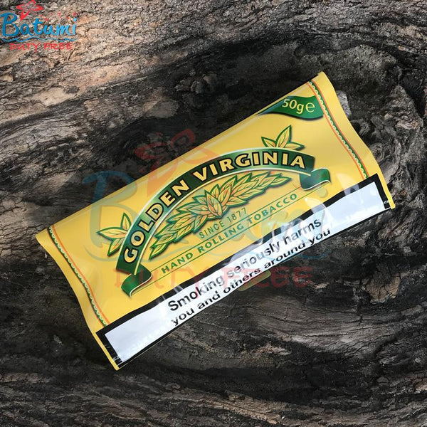 Golden Virginia The Original Gold Yellow 50g pouches hand rolling tobaccos online for sale
