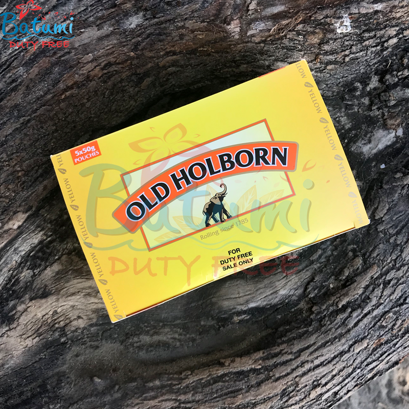 Old Holborn Yellow 50g hand rolling tobaccos online for sale