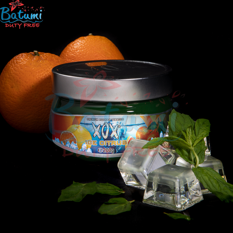 XOX Flavored Hookah Shisha Tobacco ice Citrus Natural online for sale