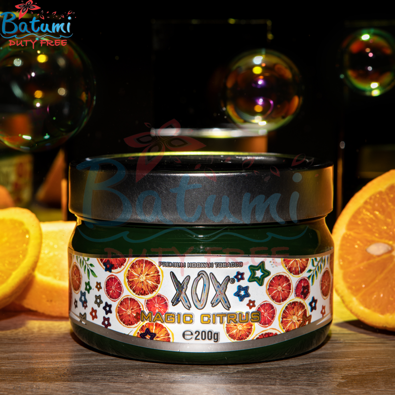 XOX Flavored Hookah Shisha Tobacco Magic Citrus Natural online for sale