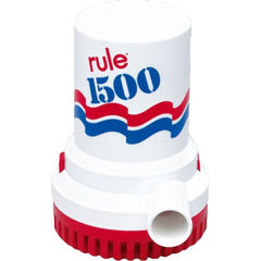 RULE 1500 GPH ELECTRIC BILGE PUMP