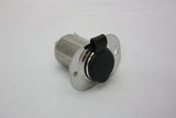 12V Accessory Plug (Stainless Steel)