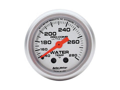 Autometer Mechanical Water Temperature Gauge Ultra Lite Marine