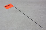 Diamondback Flag with Pole