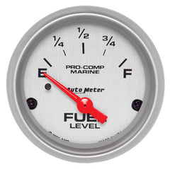 Autometer Fuel Gauge Ultra Lite Marine