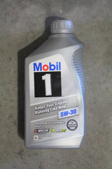 MOBIL 5W30 MOTOR OIL FOR PCM ENGINES