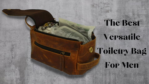 Leather Jackson's Best Leather Toiletry Bag For Men