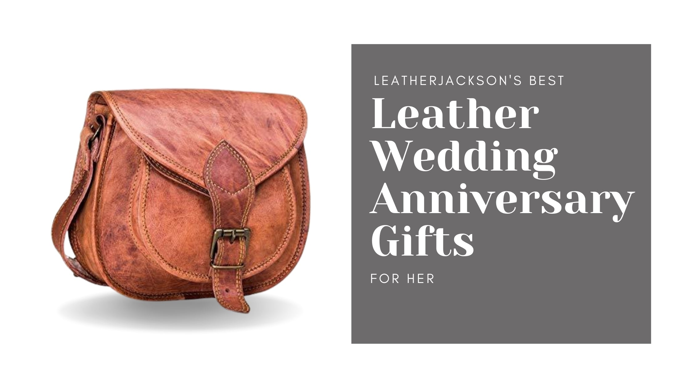 best leather wedding anniversary gifts for her