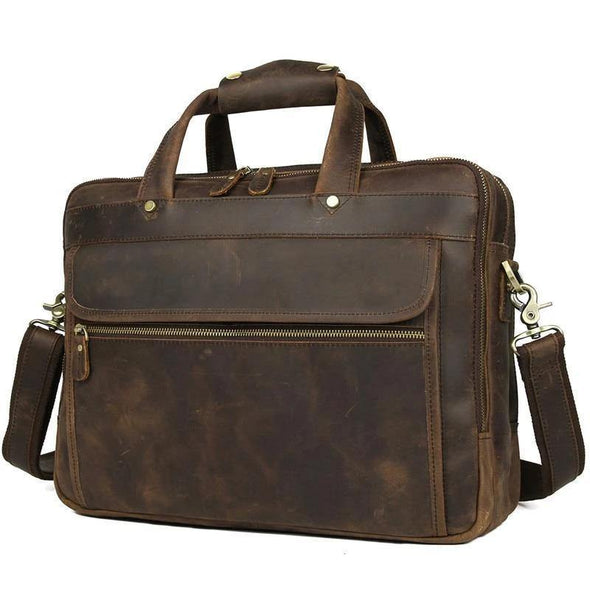Genuine leather bags, Leather messenger bags for men