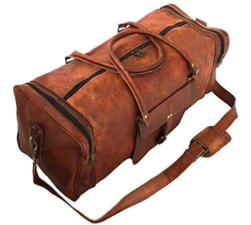 leather duffle bags for men and women