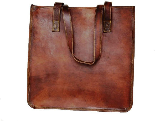 leather tote bag for wedding anniversary